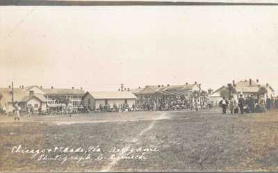FL - 1900's REAL PHOTO Florida Baseball Chicago vs Ft Dade - St Petersburg, Fla