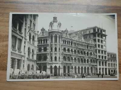 1927 Real photo Postcard of Post Office, Hong Kong.