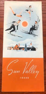 Classic 1940 Sun Valley Winter Brochure