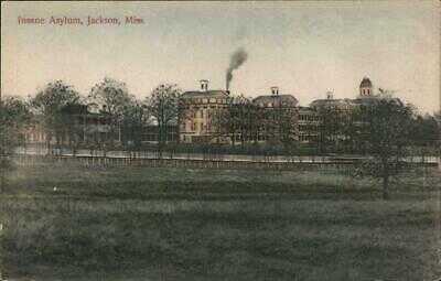 Jackson,MS Insane Asylum Mississippi W.L. Brown Co. Antique Postcard Vintage