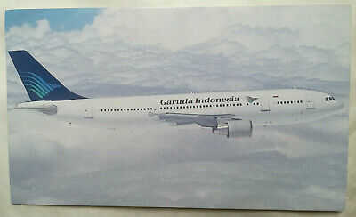 Airline Issue - GARUDA Airbus A-300 -Aviation Airline Postcard