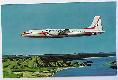 Airline Issue -CANADIAN PACIFIC - Britannia -Aviation Airline Postcard