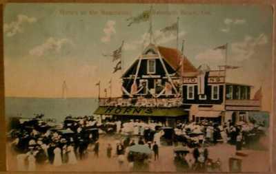 "Horn's Pavilion "" `Rehoboth Beach Delaware.     verý .♡. `Rare - PC"