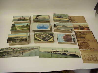 882 Unused One Cent Penny Postcard 5 Folding 2 Extra Long Postcards