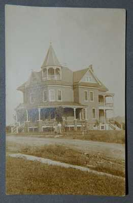 Ca.1910 RPPC Kennett Square Pennsylvania Pa. Postcard Post Card Mansion Fair NR