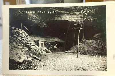 RPPC Old Spanish Cave HY-65 Real Photo Postcard E1