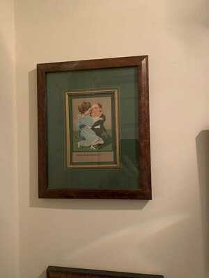 romantic postcards framed antique over 100 year old