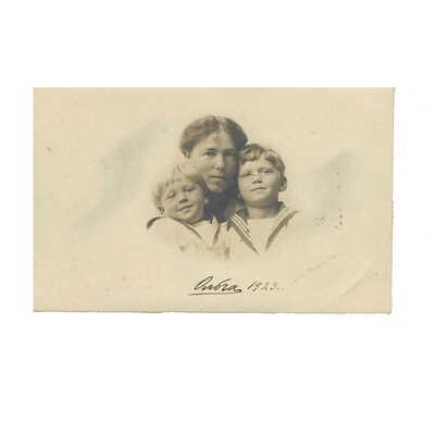 Antique Russian Signed postcard of Grand Duchess Olga