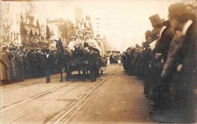 Washington DC Suffragettes Women's Suffrage Parade Real Photo Postcard AA18179