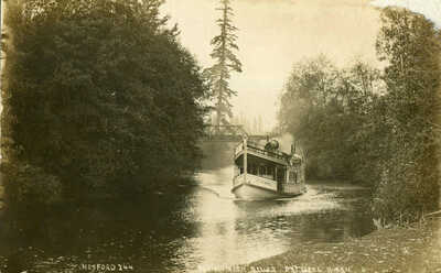 RPPC Passenger Steamer CITY of BOTHELL Sammamish River Washington- Hosford photo