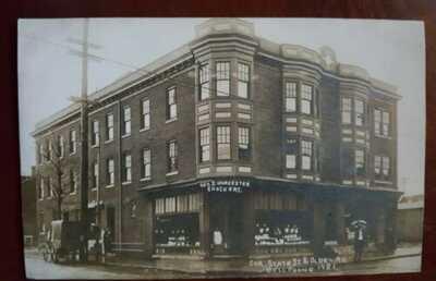 OLD RPPC TRENTON NEW JERSEY NJ STATE STREET & OLDEN AVE. GEO D. WORCESTER...