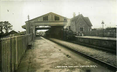 CHEDDAR Railway Station, Somerset RP