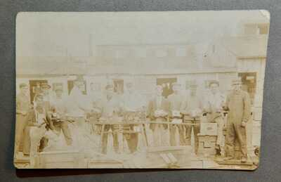 Ca.1910 Sharptown MD Maryland RPPC Real Photo Postcard Tomato Canning Factory nr