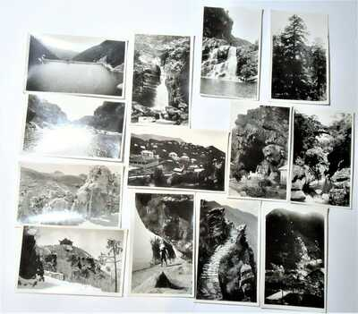 13 RPPC China, Lushan -Kuling (Guiling)Estate Mountains- American School 1929