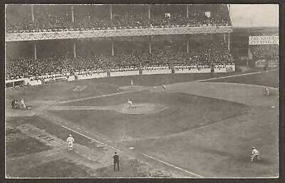Rare circa 1911 New York Giants Baseball Polo Grounds Postcard - Undocumented