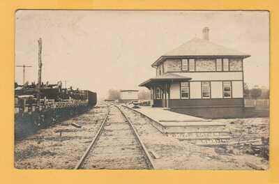 RPPC C.N.R. Station Brooklin (Ontario)