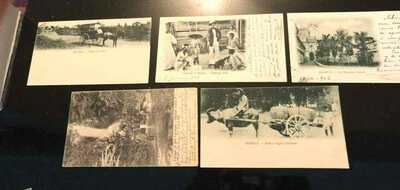 PHILIPPINES FILIPINAS PRIVATE MAILING CARDS POST CARDS PMC AMERICAN PERIOD USA