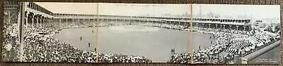Very Rare Chicago Cubs National League Ball Park Baseball Stadium Jumbo Postcard