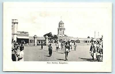 10 POSTCARDS BANGALORE MARKET CENOTAPH MUSEUM FORT WATER WORKS T MAMUNDY PILLAY