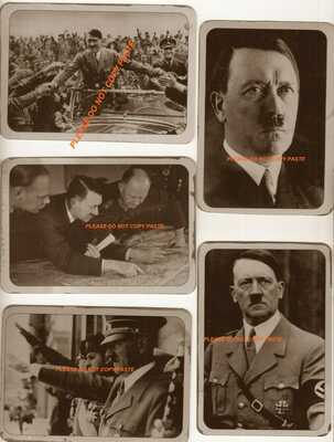 """Vintage Picture Postcard """"Adolf hitler"""" The Rotary Photo Co London Print 50 A"""