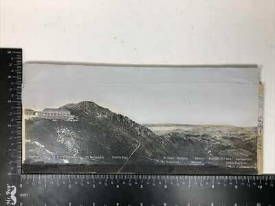 Org Postcard Proof Photo Mill Valley Mt Tamalpais Scenic Railway CA Cal c.1907