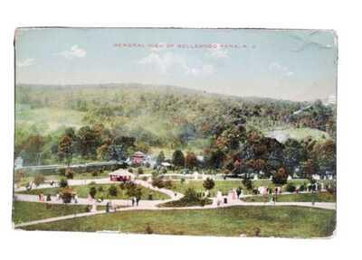 General view Bellewood Amusement Park New Jersey 1911 Postcard