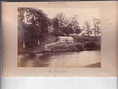 Wooler 10 Real Photo inc Blacksmith at work & Humbleton Mill size 110 x 150mm