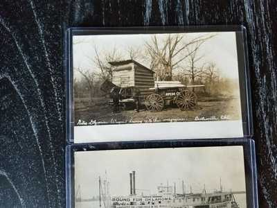 Real Photo Postcards: Three Oklahoma Scenes,... (Total: 3 Items)