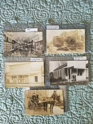 Real Photo Postcards: Five Oregon Scenes.