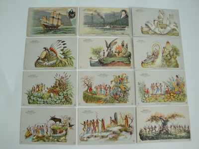 "1909 HUDSON/FULTON CELEBRATION Complete Set 1-72 ""Unused"" Souvenir Post Cards"