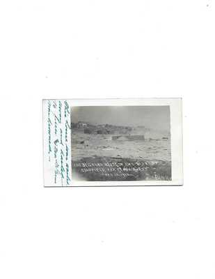 REAL PHOTO POSTCARD OF GOLDFIELD NEVADA 1913 FLOOD
