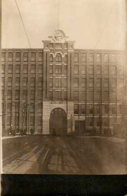 Antique RPPC Postcard  LAWRENCE MA 1912 TEXTILE STRIKE  TEXTILE MILL  RARE