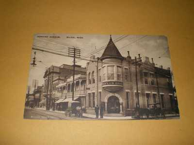 1913 Town View Howard Avenue Biloxi Mississippi MS Postcard