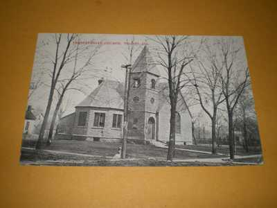 1912 Town View Presbyterian Church Tolono Illinois IL Champaign County Postcard