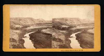 "D.T.~#252 White Earth River, D.T.""   From the  CAPT, FISK'S EXPEDITION, 1866"