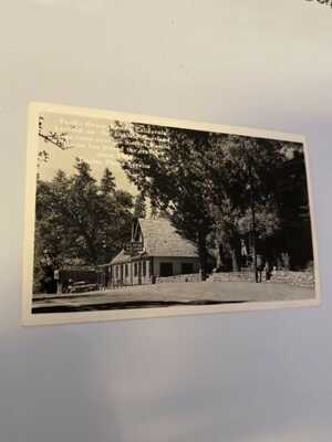 Lake Tahoe Placerville Highway 50 POSTCARD Pacific House El Dorado County CA