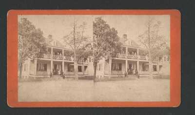 S.C. A Plantation Home by J.A. Palmer, Aiken, Names on reverse. South Carolina