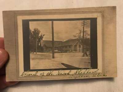 Church Of The Good Shepherd Vintage Postcard, Ogden, Utah
