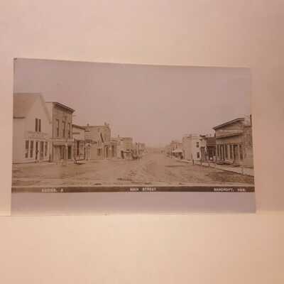 Real Photo Postcard Bancroft, Nebraska