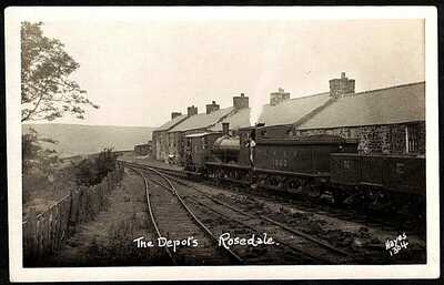 ROSEDALE RAILWAY, THE DEPOTS., BLAKEY JUNCTION STATION, NORTH YORKSHIRE, RP