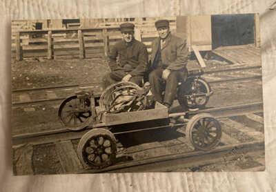 Railroad Workers Rantoul IL C1910 Champaign County Real Postcard Warner