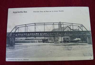 RPPC VICTORIAVILLE - PONT SUR LA RIVIÈRE NICOLET - NICOLET RIVER BRIDGE Quebec
