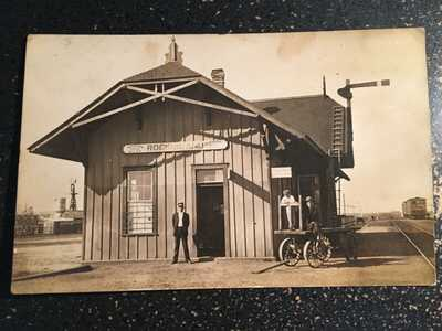 Rockisland Texas depot station San Antonio and Aransas Pass Railroad Railroad