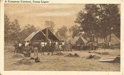 Houston, Texas - Camp Logan - A Company Canteen