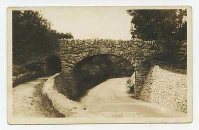 RIVERSIDE, Calif. ~ Rubidoux Bridge ~ RPPC postcard California ~ Rubedoux Bridge