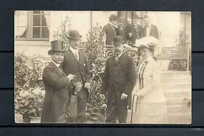 SIAM/THAILAND.   OLD POSTCARD WITH K. CHULALONGKORN IN DENMARK RARE