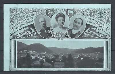 SIAM/THAILAND .OLD POST CARD WITH K.CHULALONGKORN USED IN GERMANY 1907