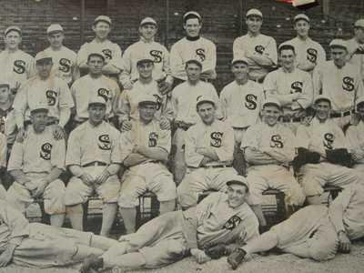 Postcard post card   RPPC Real Photo  Baseball  Team Chicago White Sox IL