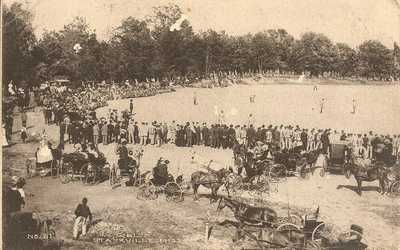 Starkville, Miss. - Mississippi A&M College Baseball Game - 1907