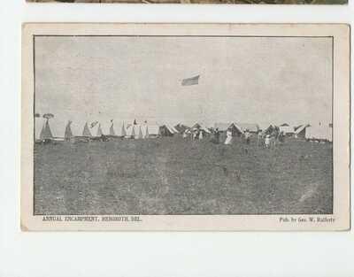 1908 REHOBOTH BEACH DE DELAWARE ANNUAL ENCAMPMENT